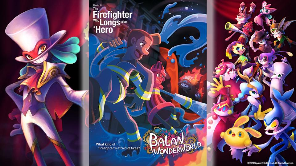 Ya disponible Balan Wonderworld