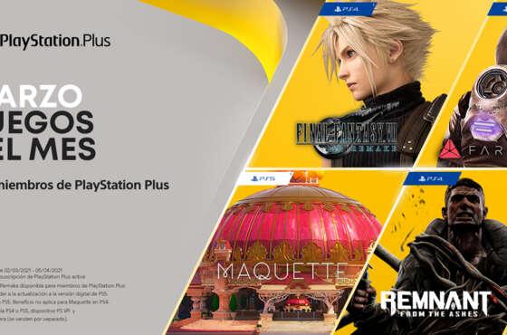PlayStation Plus: novedades del mes de marzo