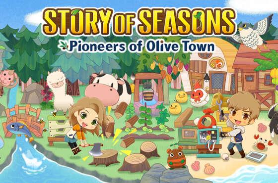 Story Of Seasons: Pioneers of Olive Town en Nintendo Switch