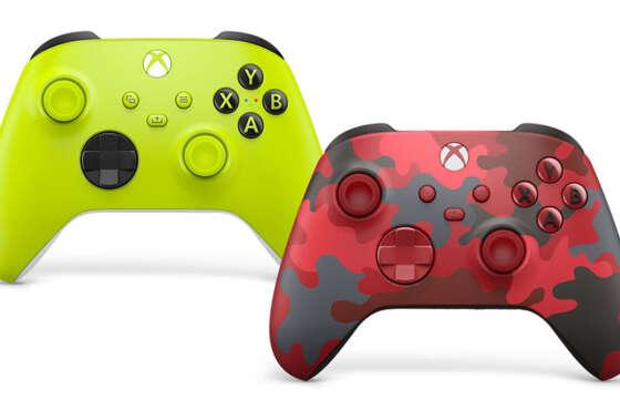 Nuevos mandos inalámbricos de Xbox