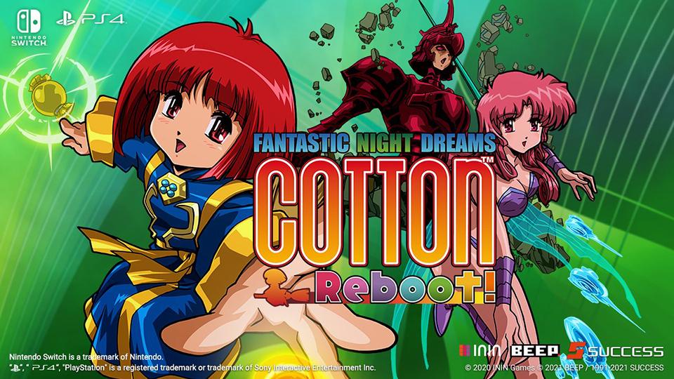 Cotton Reboot llega en físico a España