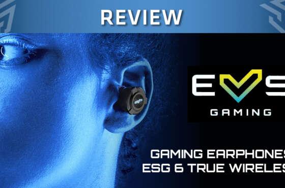 ESG6 True Wireless Auriculares Gaming de Energy Sistem