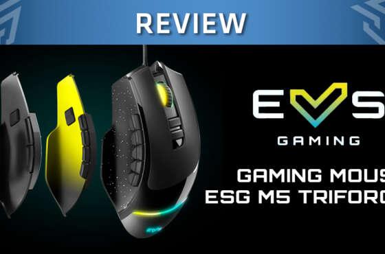 ESG M5 Triforce, un ratón gaming de Energy Sistem