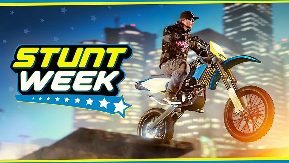 Celebra la semana acrobática en GTA Online
