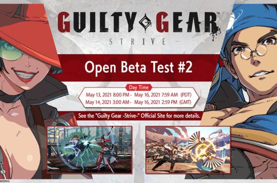 Guilty Gear -Strive- se celebrará del 14 al 16 de mayo