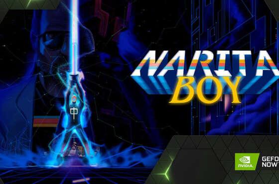 Narita Boy llega a GeForce NOW