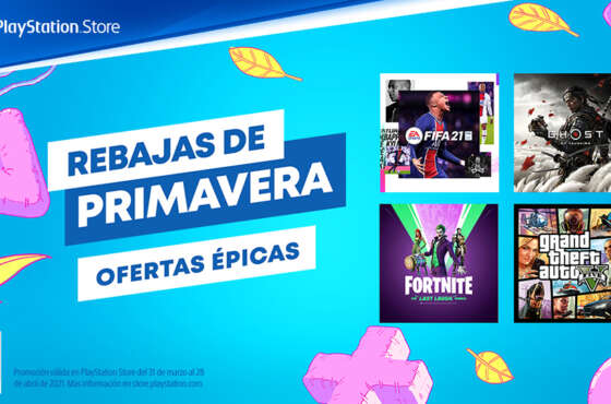 Las Rebajas de Primavera llegan a PlayStation Store