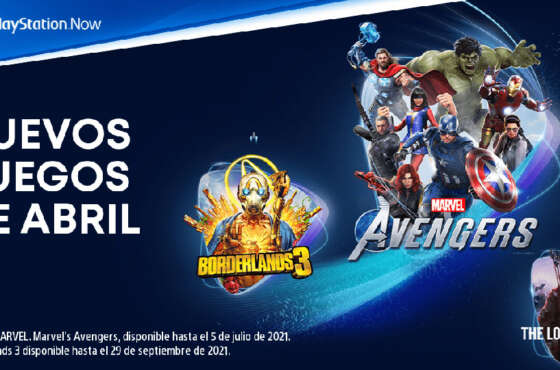 PlayStation Now en abril