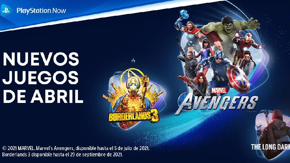 PlayStation Now en abril
