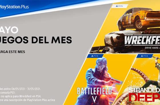 Novedades de PlayStation Plus en mayo
