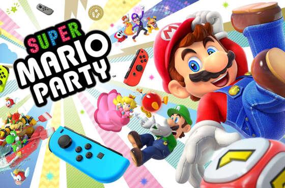 Juega a Super Mario Party con amigos lejanos en