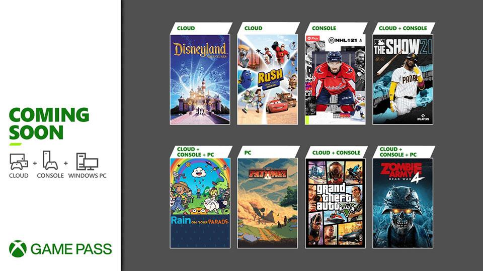 Próximamente en Xbox Game Pass