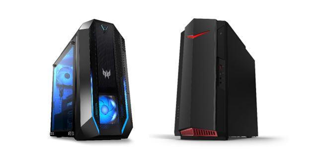 Acer gaming Predator Orion y Nitro