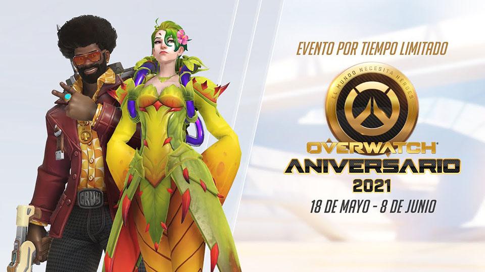 ¡Ha llegado el Aniversario 2021 de Overwatch!