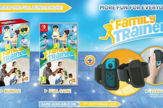 Family Trainer llegará a Nintendo Switch