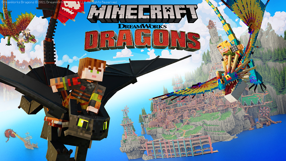Minecraft y Minecraft Dungeons anuncian sus nuevos DLC