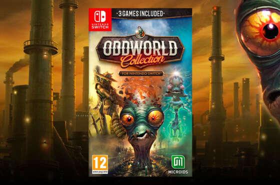 Oddworld Collection llegará a Nintendo Switch