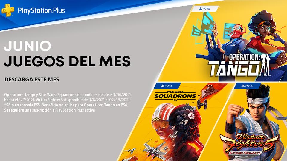 Novedades de PlayStation Plus en junio