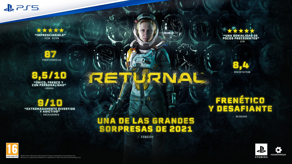 Returnal, así creó Housemarque los efectos inmersivos de DualSense