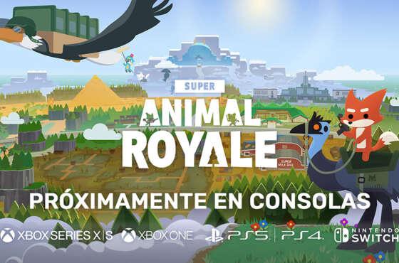 Super Animal Royale anuncia su lanzamiento en consolas