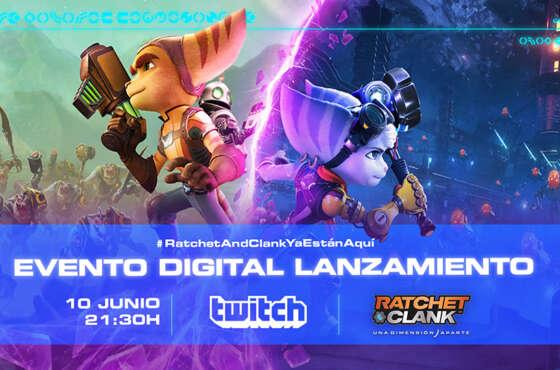 Ratchet & Clank: Una Dimensión Aparte, evento digital de lanzamiento