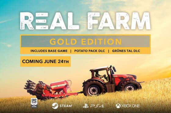 Real Farm Gold Edition sale el 24 de junio