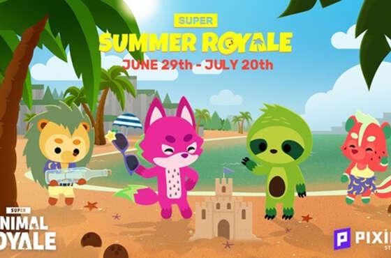 El verano llega a Super Animal Royale con un nuevo evento