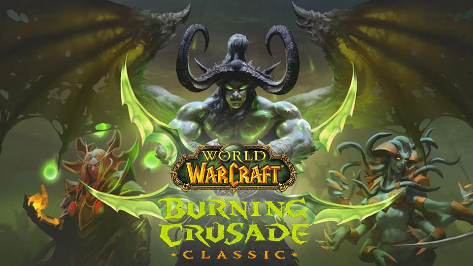 ¡Ya está disponible World of Warcraft Burning Crusade Classic!