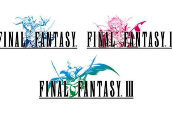 Final Fantasy I, II y III vuelven a nacer el 28 de julio