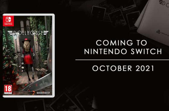 Dollhouse llega a Nintendo Switch este Octubre