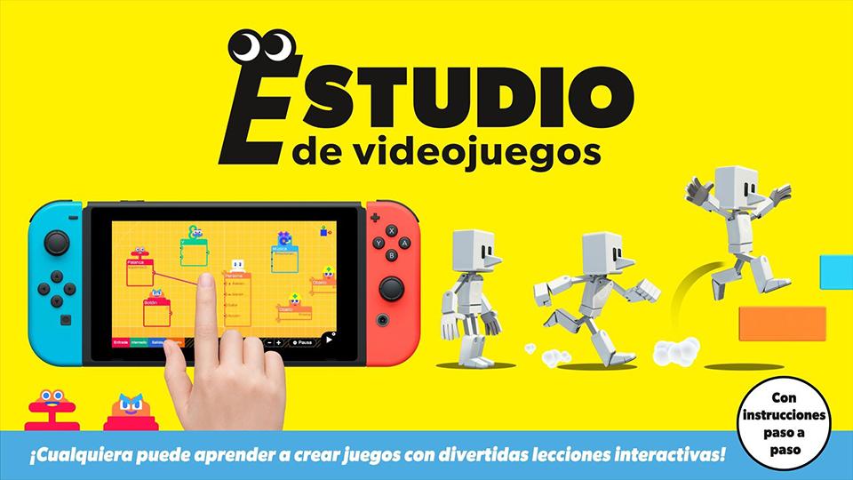 Estudio de videojuegos para Nintendo Switch