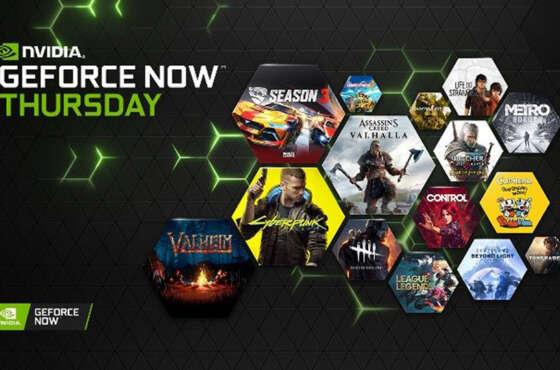 GeForce NOW alcanza los 1000 juegos en PC
