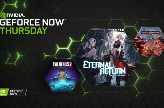 36 juegos nuevos se unirán a GeForce NOW en julio