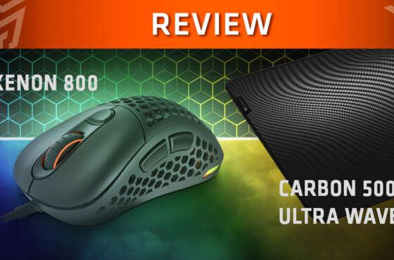 Review Genesis Xenon 800 + Carbon 500 Ultra Wave
