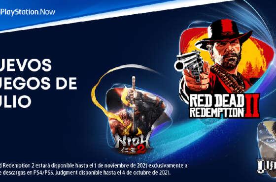 Novedades del mes de julio para PlayStation Now