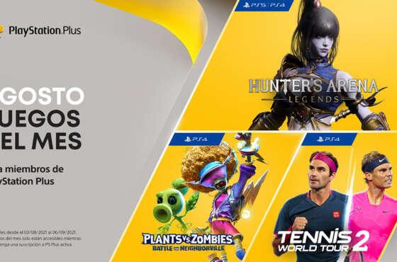 Títulos de agosto en PlayStation Plus