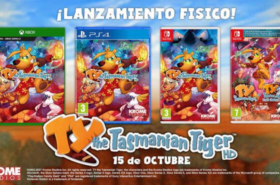 TY the Tasmanian Tiger HD llegará en formato físico