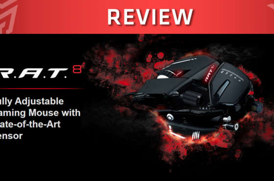 Review Ratón Gaming Mad Catz R.A.T 8+