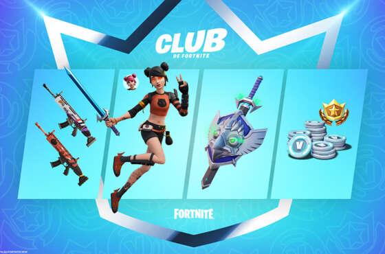 Ya disponible en PlayStation Store el Club de Fortnite de agosto