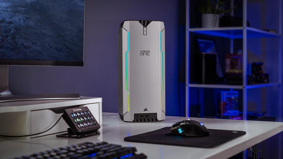 CORSAIR lanza sus nuevos PC para juegos CORSAIR ONE