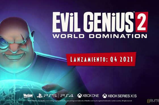 Evil Genius 2 ya tiene fecha de lanzamiento