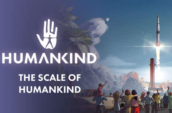 La verdadera escala de Humankind en un nuevo vídeo