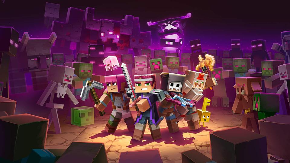 Minecraft Dungeons llegará a Steam