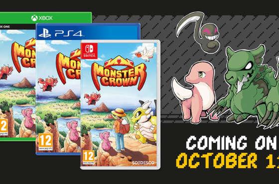 Monster Crown llegará en físico a consolas