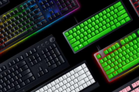 Nuevos accesorios para teclado de Razer