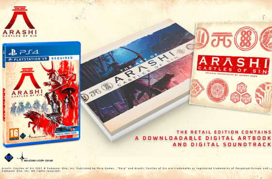 Arashi: Castles Of Sin ya disponible en formato físico