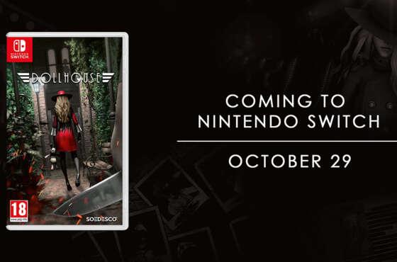 Dollhouse llega a Nintendo Switch el 29 de octubre