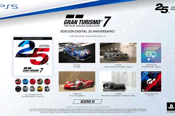 Gran Turismo 7 y su edición 25 Aniversario ya está disponible para reserva