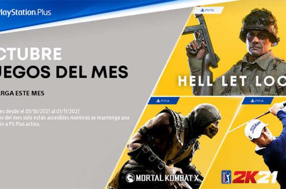 Novedades de octubre en PlayStation Plus