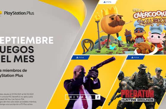 Los títulos que llegan a PlayStation Plus en septiembre